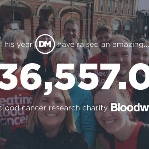 Dalcour Maclaren raises over £36,000 for Bloodwise!