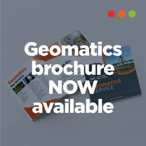 Find out more about our Geomatics Services